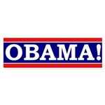 Obama! (bumper sticker)