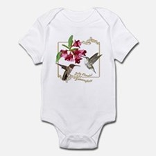 Hummingbird Pair Onesie