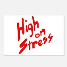 High on Stress Postcards (Package of 8)