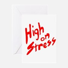 High on Stress Greeting Cards (Pk of 10)