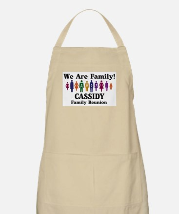CASSIDY reunion (we are famil BBQ Apron