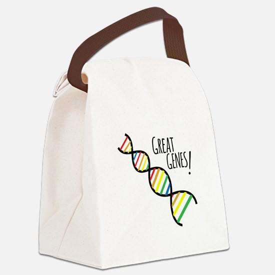 Great Genes Canvas Lunch Bag