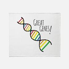 Great Genes Throw Blanket
