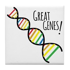 Great Genes Tile Coaster