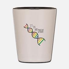 My DNA Shot Glass