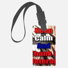 God Bless Our Veterans Luggage Tag
