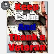 God Bless Our Veterans Puzzle