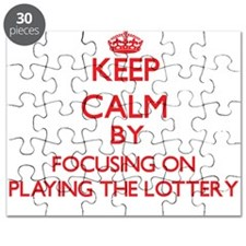 Keep Calm by focusing on Playing The Lotter Puzzle