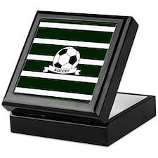 Cute Soccer Keepsake Box