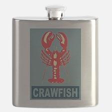 Crawfish in Blue Flask