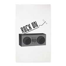 Rock On Area Rug