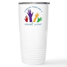 Cute Social welfare and work Travel Mug