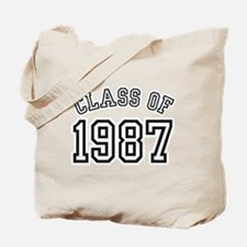 Class of 1987 Tote Bag