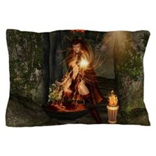 Beuatiful witch Pillow Case
