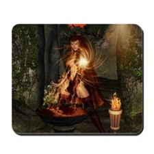 Beuatiful witch Mousepad