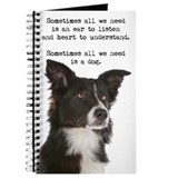 Border collie Journals & Spiral Notebooks