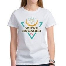 Engagement Announcement Hipster T-Shirt