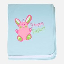 Hoppy Easter baby blanket