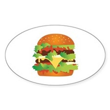 Cheeseburger Decal