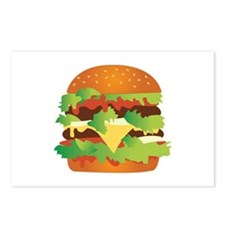 Cheeseburger Postcards (Package of 8)