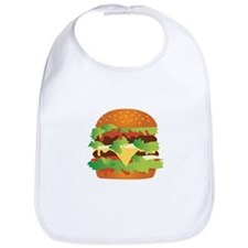 Cheeseburger Bib