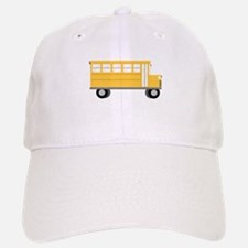 School Bus Baseball Baseball Baseball Cap