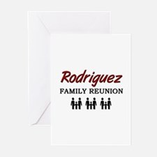 Rodriguez Family Reunion Greeting Cards (Package o