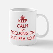 Keep Calm by focusing on Split Pea Soup Mugs