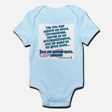 Unique Down syndrome awareness Infant Bodysuit