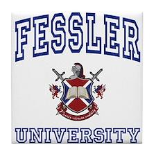 FESSLER University Tile Coaster
