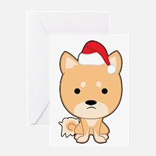 Holiday Shiba Greeting Cards
