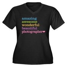 Awesome Photographer Plus Size T-Shirt
