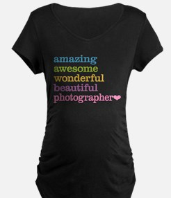 Awesome Photographer Maternity T-Shirt