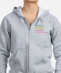 Awesome Photographer Zip Hoodie