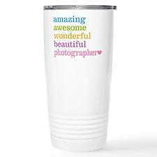 Awesome Photographer Travel Mug
