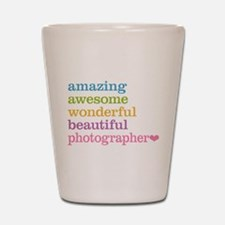 Awesome Photographer Shot Glass