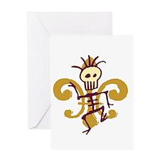 Bone Man Greeting Cards