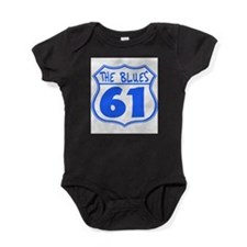 Blues Highway Baby Bodysuit