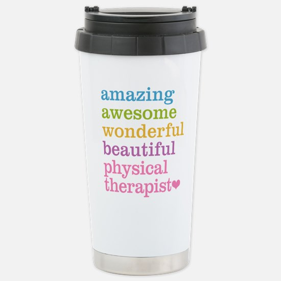 Physical Therapist Stainless Steel Travel Mug