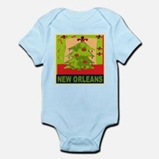 New Orleans Christmas Tree Body Suit
