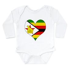 Funny Rhodesia Long Sleeve Infant Bodysuit