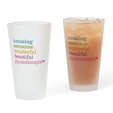 Physiotherapist Drinking Glass