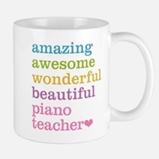 Piano Teacher Mugs