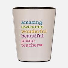 Piano Teacher Shot Glass