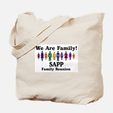 SAPP reunion (we are family) Tote Bag