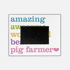 Pig Farmer Picture Frame