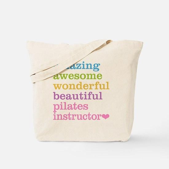 Pilates Instructor Tote Bag
