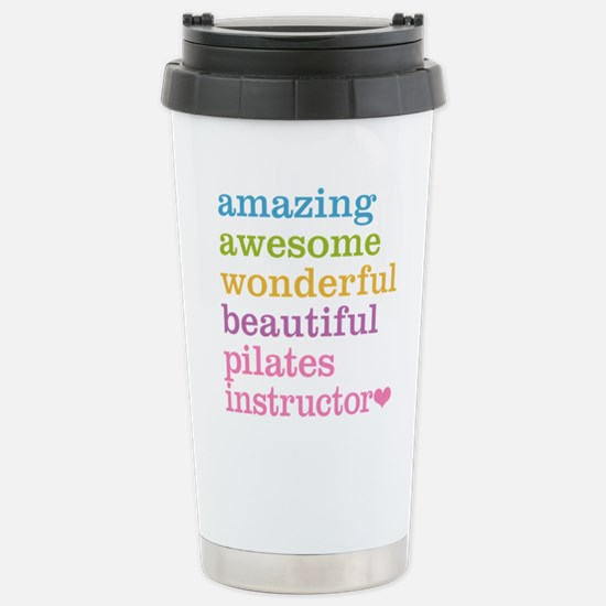Pilates Instructor Stainless Steel Travel Mug