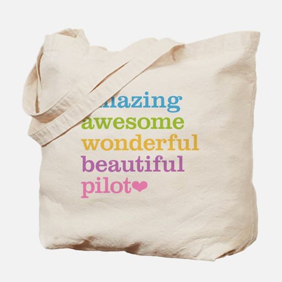 Awesome Pilot Tote Bag