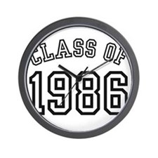Class of 1986 Wall Clock